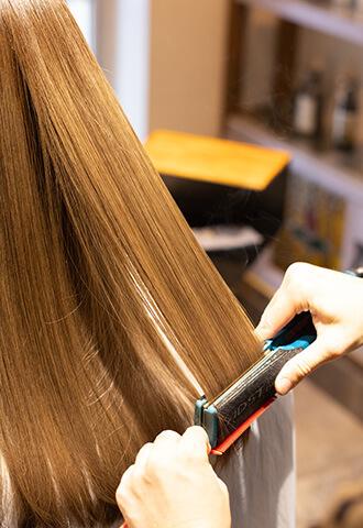 自分の髪の本来の美しさ