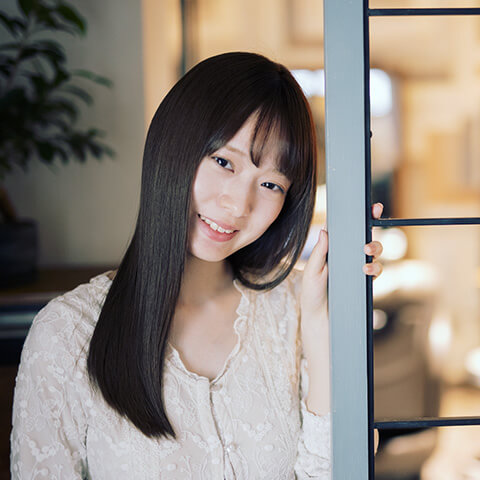 ツヤのあるキレイな髪へと変化
