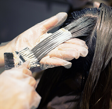 髪質改善ヘアカラーメニュー