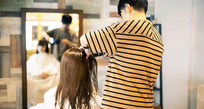 髪質改善施術イメージ1